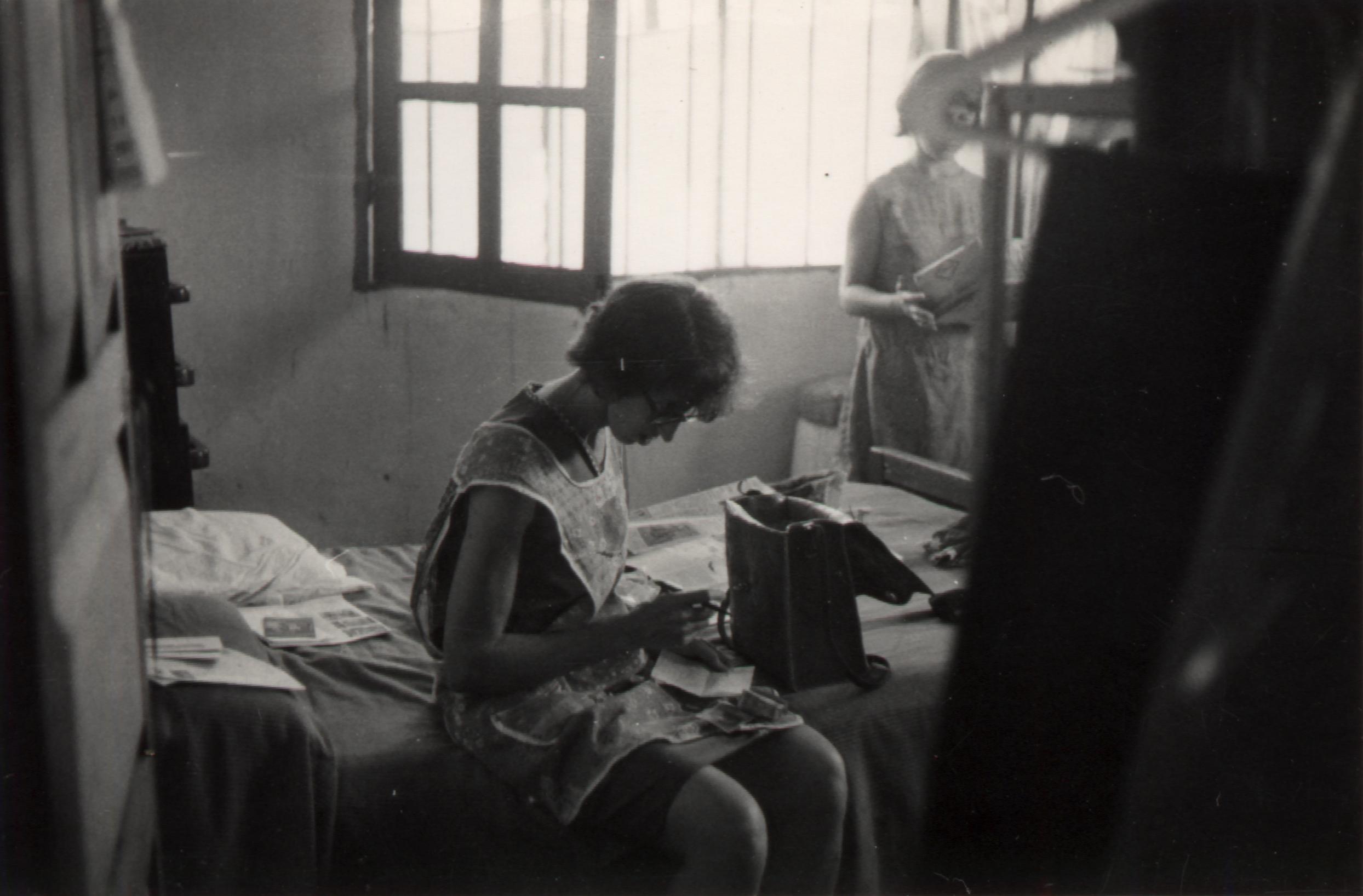 Jean writing check